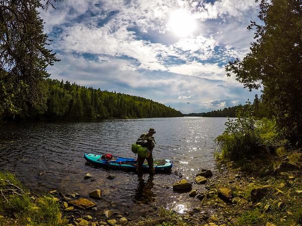 On to Canoe Lake