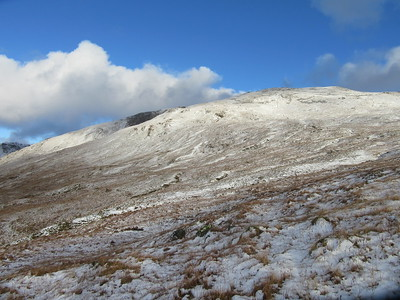 Looking back to Beinn Challuim