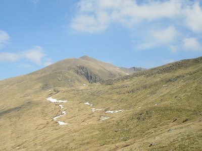 Looking back at Ben Lawers.