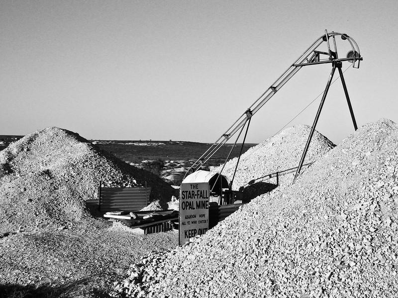 White Cliffs Opal Mine