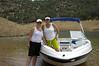 Boating on Lake McClure
