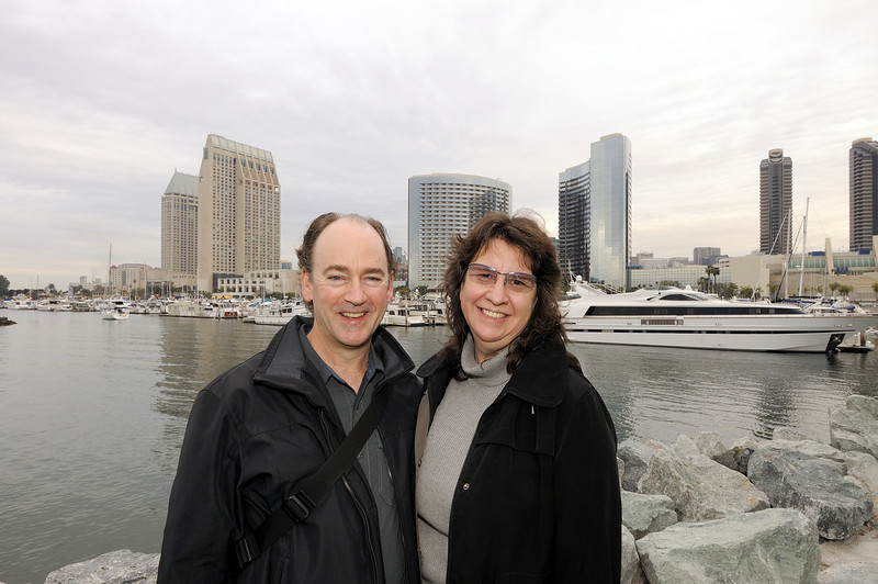 Celebrating our 2013 wedding anniversary in San Diego
