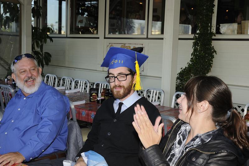Graduation dinner party