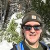 Selfie hiking the Valley Loop Trail