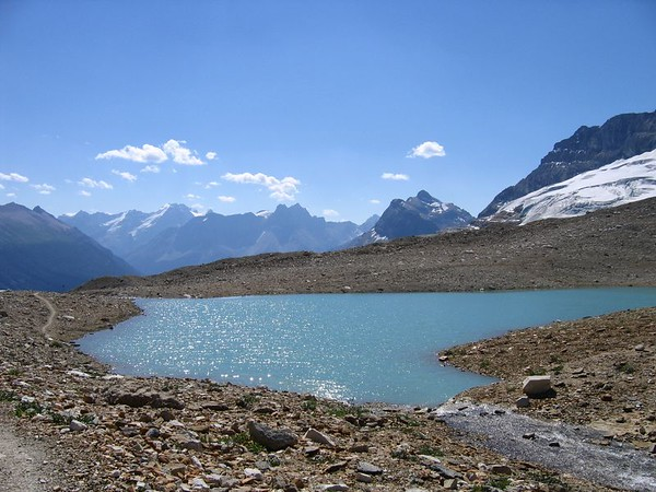 Lake on Iceline Trail