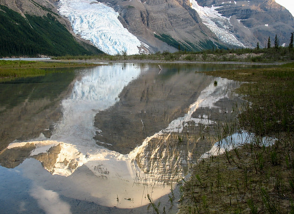 Reflection of Mt Robson in Berg Lake