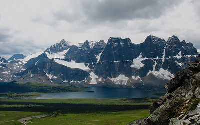 Tonquin Valley from Mt Clitheroe