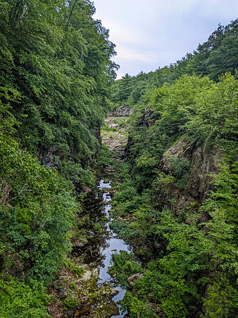 Next day we headed to Quabbin Reservoir for some more hiking. This time Jenn joined as we hiked across the dam and up to the observation tower.