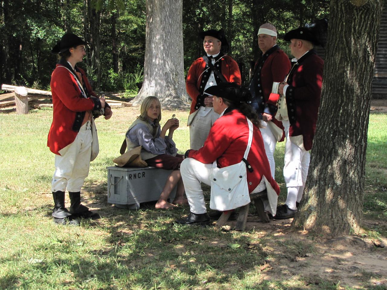 Latta Plantation Revolutionary War Reenactment