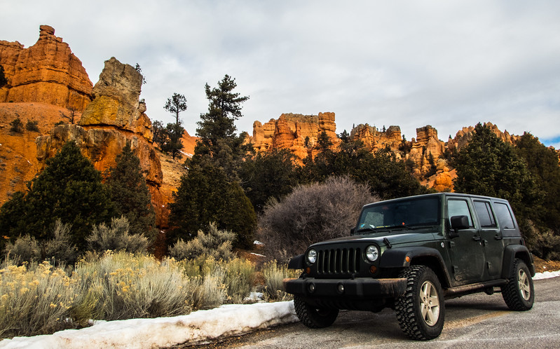 Had to get a Jeep shot :)