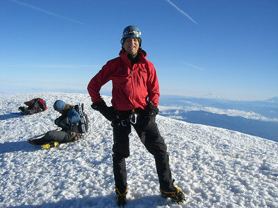 Me on the summit! :) my first summit!