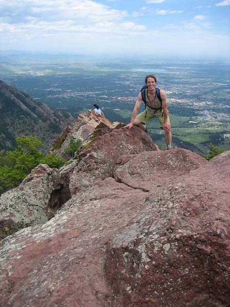 Top of Bear Peak!