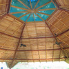 The roof.  Made from wood from the La Cusinga land.