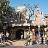 Disneyland's California Adventures decorated for Halloween.