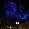 Night time view of the attraction formerly known as The Twilight Zone Tower of Terror