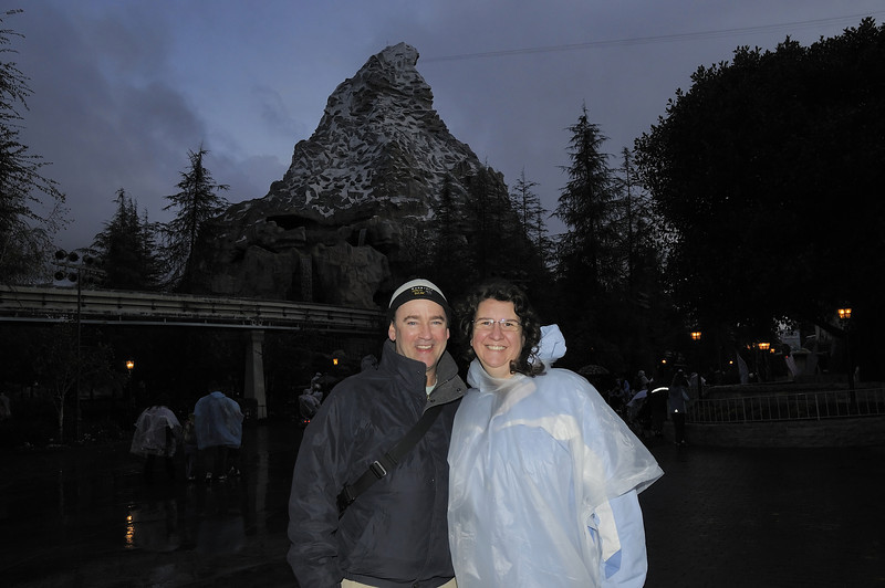 Katy took this picture of us with the Matterhorn in the background.