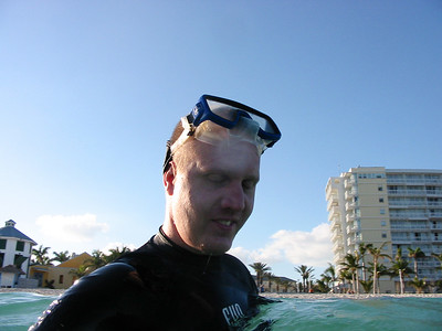 Rich doing some Snorkling