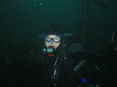 TC on the first dive of the trip.