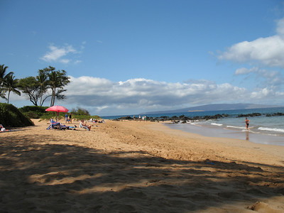 Keawakapu Beach, our favorite.