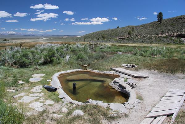 Hot Tub at Little Hot Creek