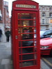 a real life red phone booth