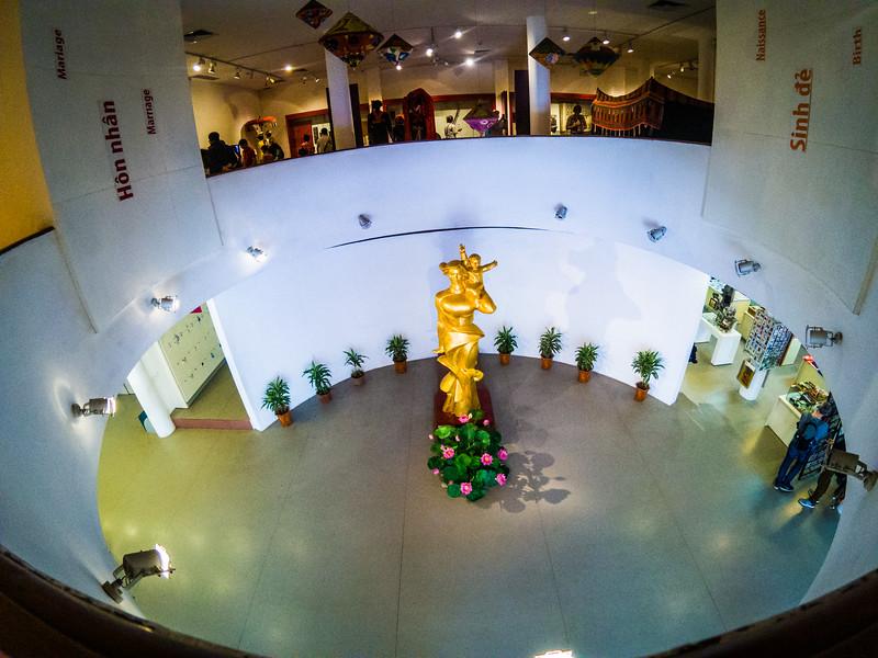 First level Vietnamese Women's Museum