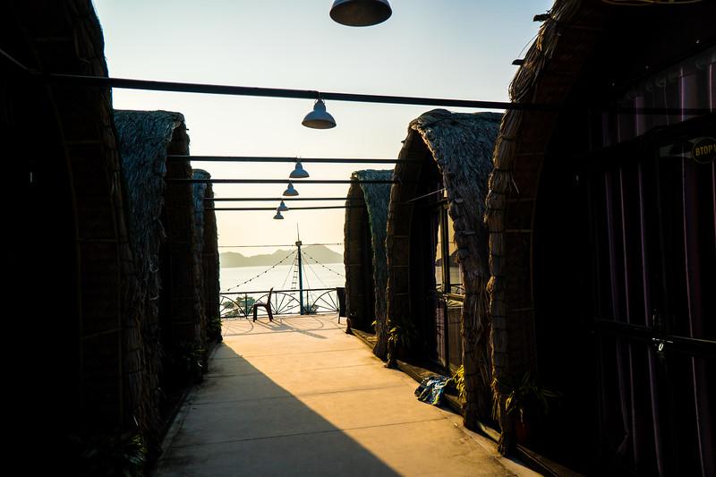 Next hostel is a bungalow!