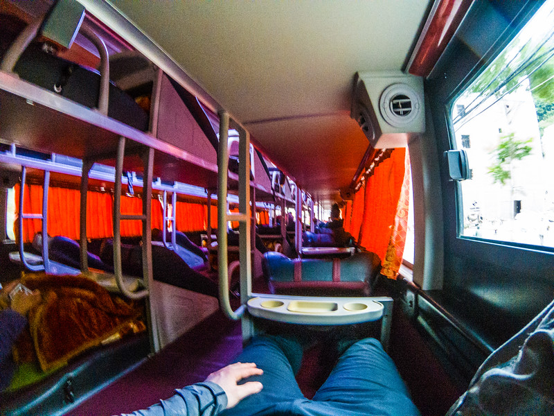 So this is a sleeper bus..