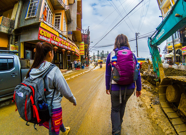 But we are going with Phong with Sapa Sisters Trekking Adventures