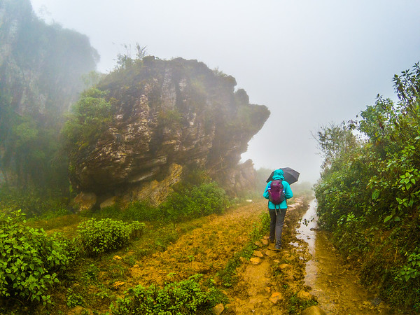 Instead of taking the road from Ta Phin to Ban Khoang, we continued on the normal path