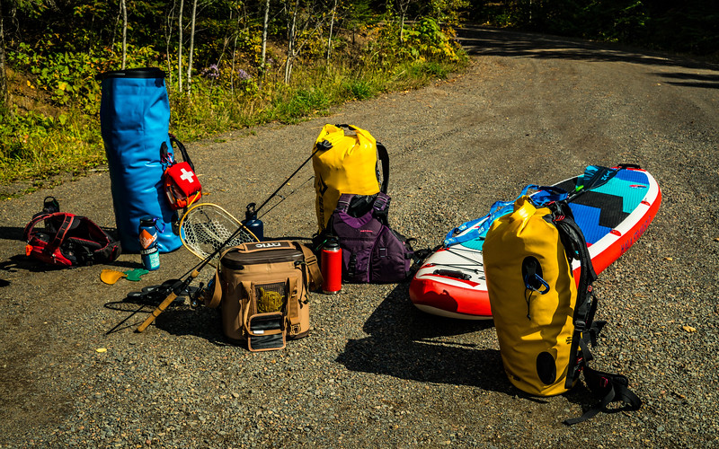 Sea to Summit 65L Hydraulic packs for the win! Plus, the RTIC cooler is awesome for bring fresh food