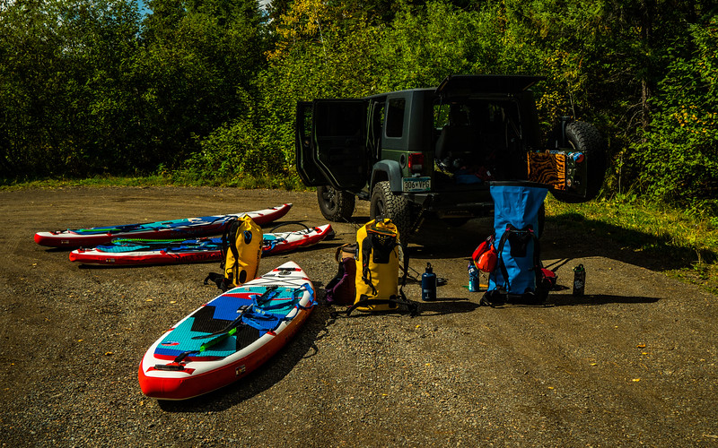 Time to pump the boards, load em up, and hit the water!
