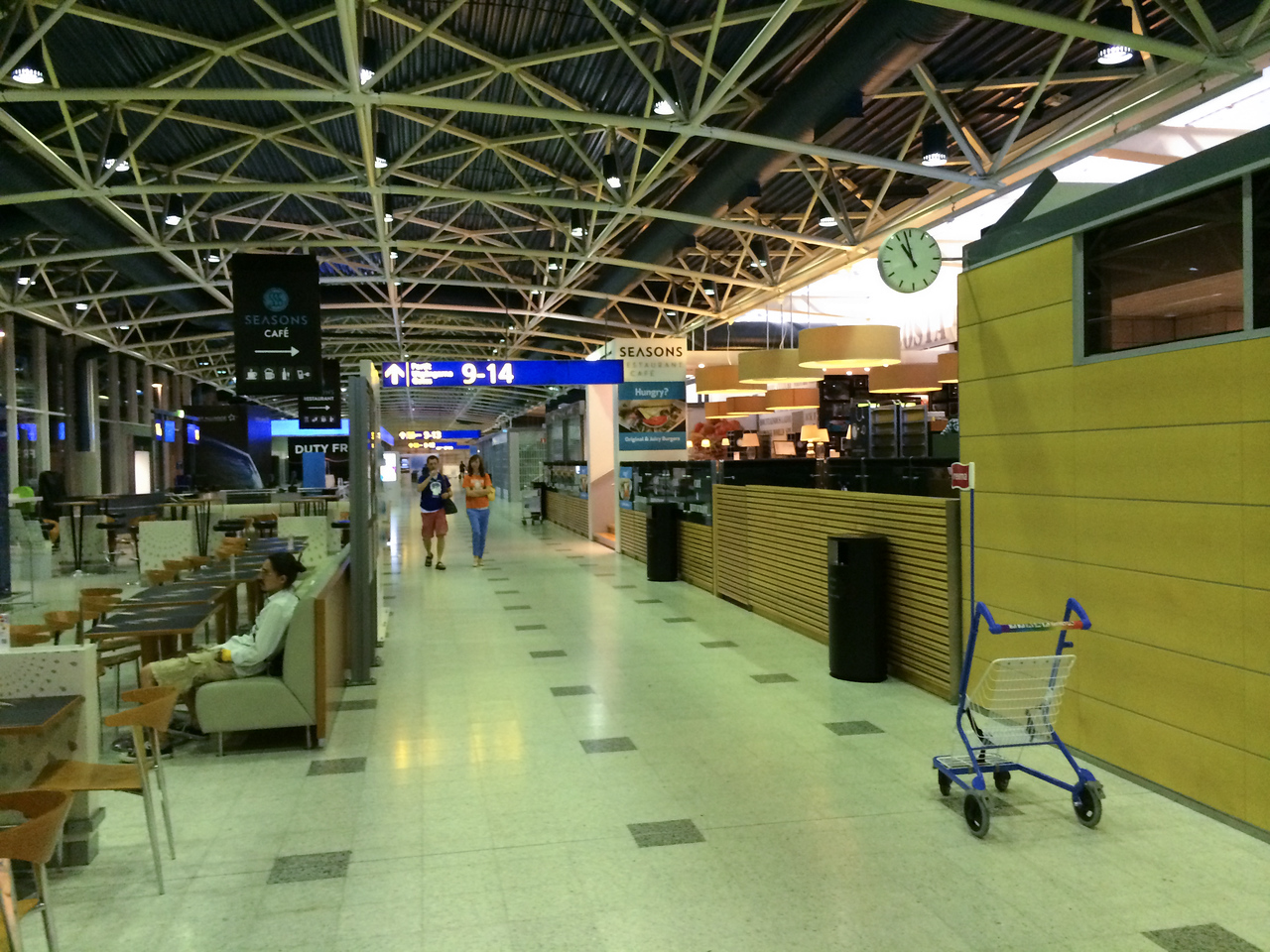 Helsinki - Airports look pretty much the same...