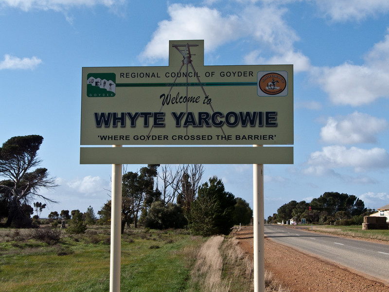 The Goyder Line. A fascinating part of Australian history. (Google it!)