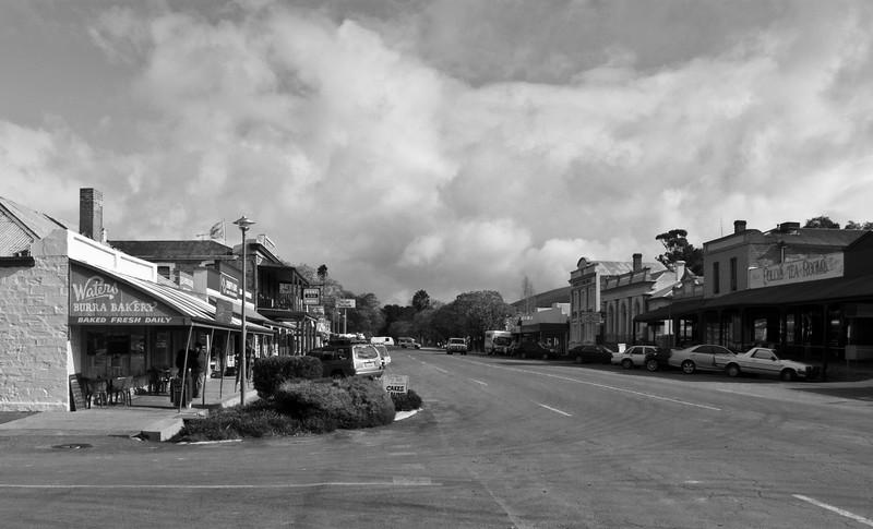 Burra. Old Mining Town.