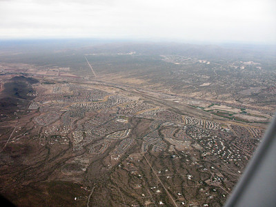 Another shot back to Tucson as we depart.