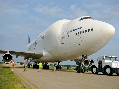 Boeing's DreamLifter is huge