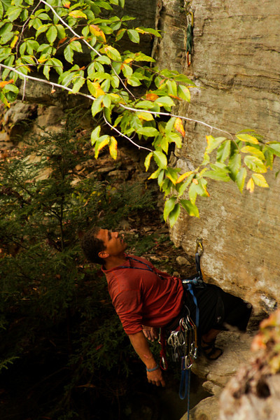 <h3>64. Using No Hands</h3> <br> Did you notice the route's overhanging a bit,<br> And I'm climbing with only my feet?<br> Take a look, just in case, so you know I've a place<br> In the ranks of the climbing elite!<br>