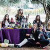 Gothic Tea Party | Lenkaland Photography