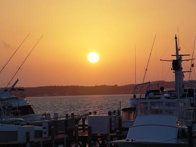 Sunset on Harbour Island