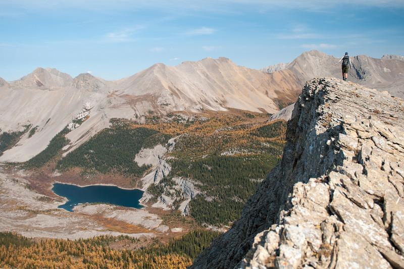 Tina above Og lake