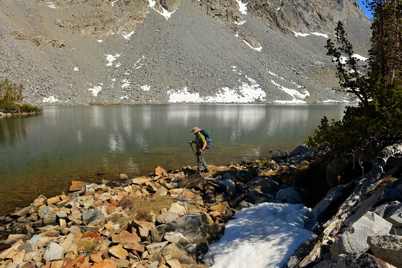 Chickenfoot Lake Hike 097