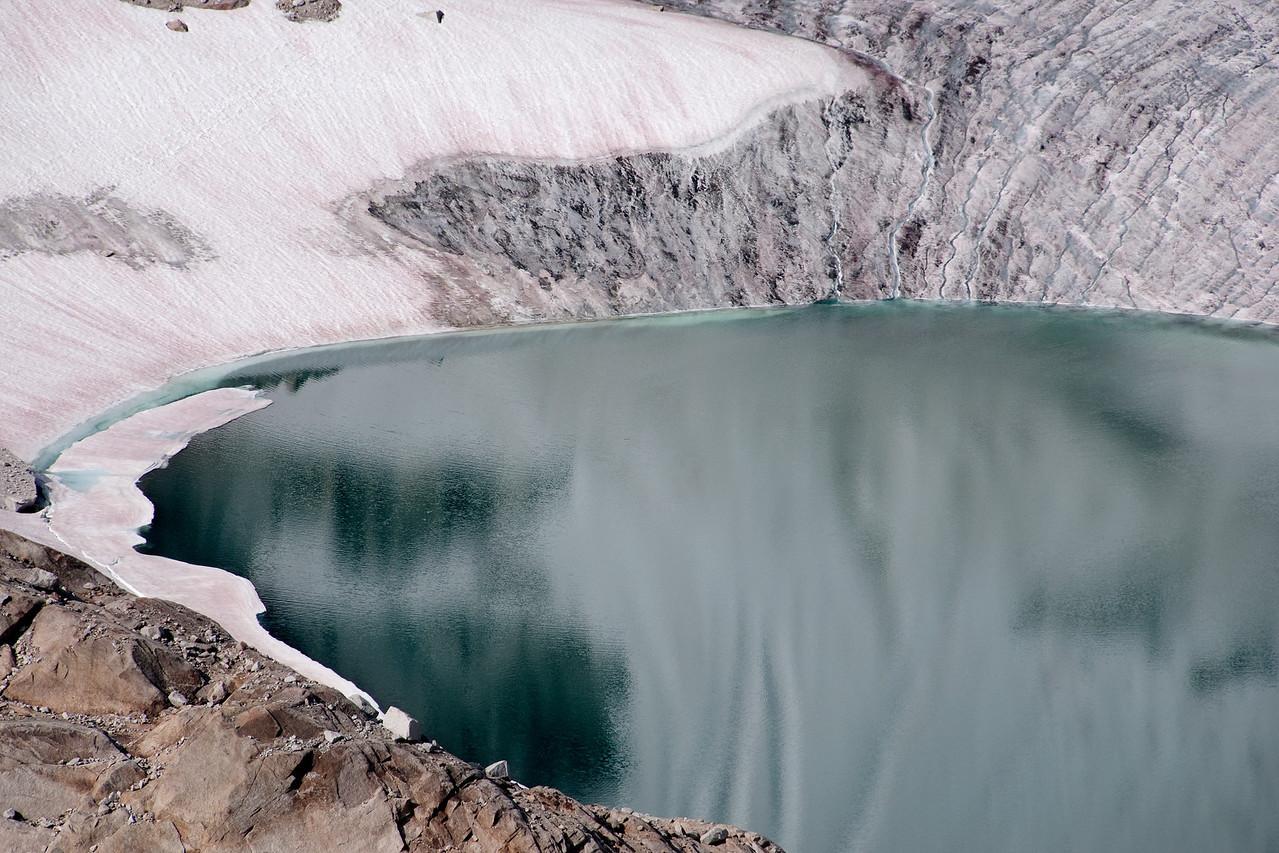 Crescent Glacier and Tarn