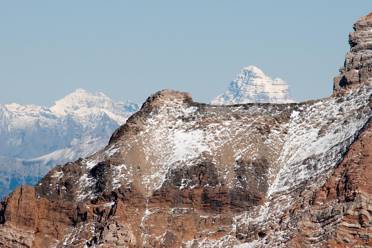 Mount Assiniboine through Mount Slade