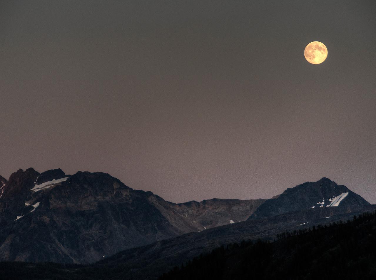 Moonrise over the Septets