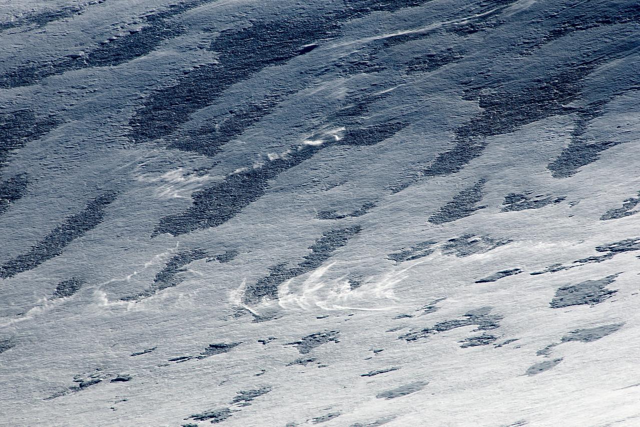 September Snow Drifts