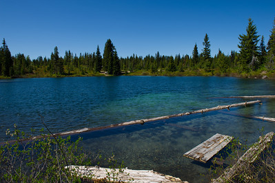 Indian Heaven Wilderness. Cold Spings Lake