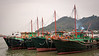 Fishing boats in Tai O, Hong Kong (Photographer: Ron)