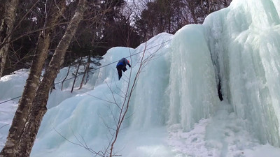 Ice Climbing Kinsman Notch-29