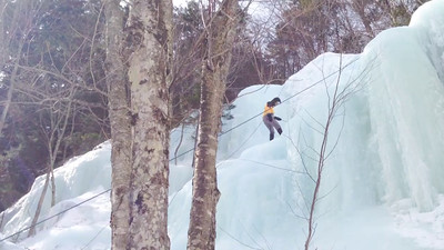 Ice Climbing Kinsman Notch-31